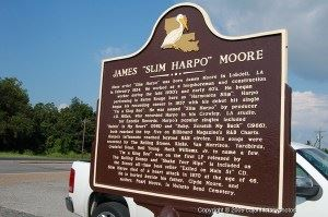 "James ""Slim Harpo"" Moore Historical Marker"