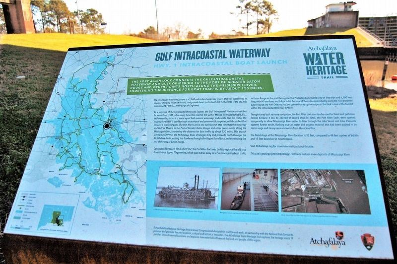 Gulf Intracoastal Waterway Marker