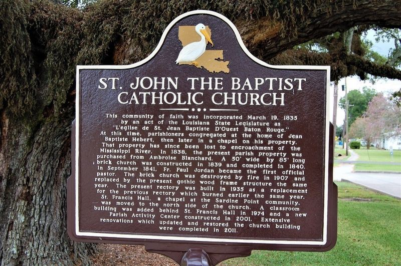 St. John the Baptist Catholic Church Marker